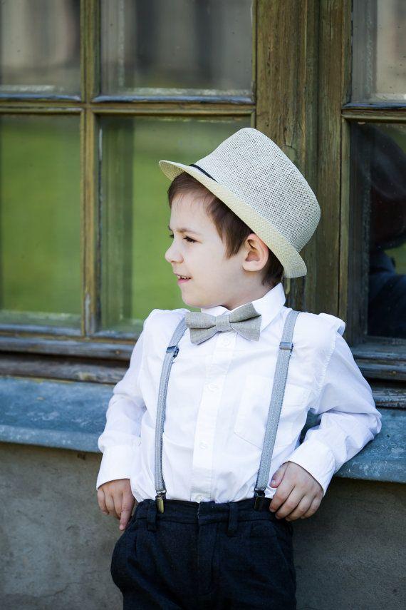 BOYS BABY PINK BOW TIE Wedding Little Baby Toddler Kids Adjustable Pretied