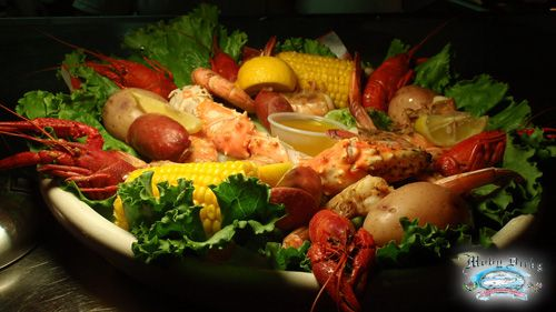 Moby S Seafood Restaurant In Port Aransas Texas