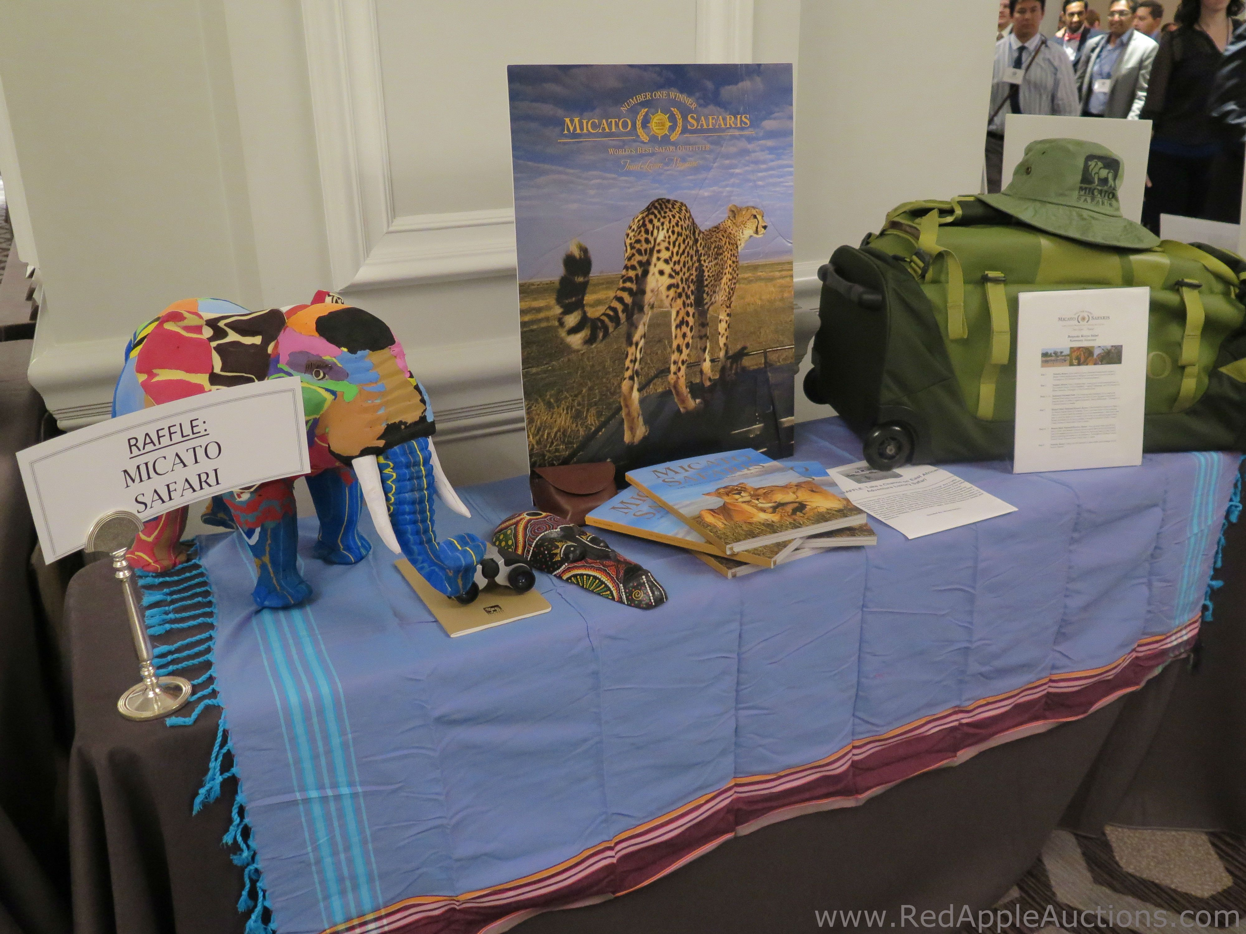 Auction raffle: A high-end safari in Africa quickly sold out of all the tickets we had offered at this nonprofit gala.