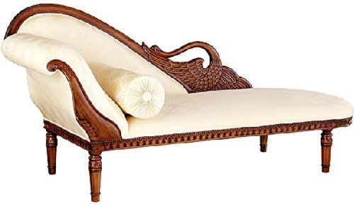 Buy Hand Carved Swan Fainting Couches, Victorian Style Settees And  Upholstered Chaise Lounges Today. Swan Fainting Sofas And Victorian  Inspired Loveseats ...