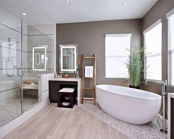 salle de bain naturelle zen Renovation Pinterest