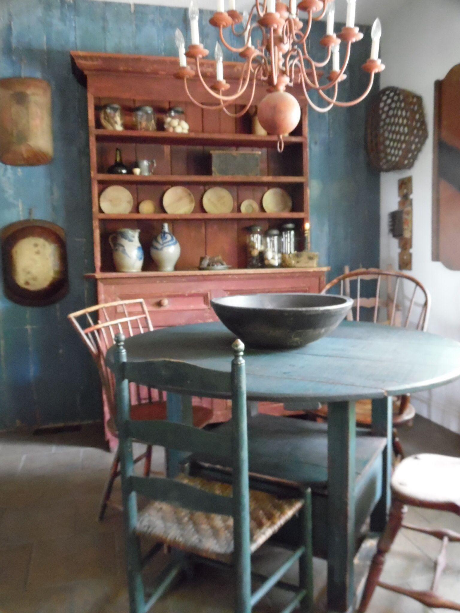 Primitive Dining Room Ideas Part - 45: Primitive Dining Room