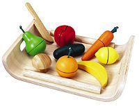 Plan Toys - Fruits & Vegetables $25