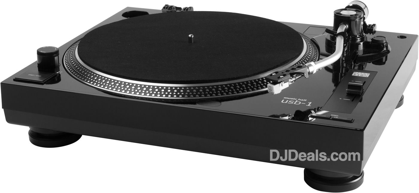 MUSIC HALL USB-1 AUDIOPHILE TURNTABLE