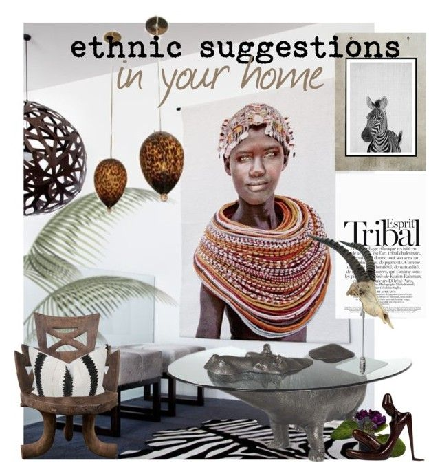 """""""***ETHNIC SUGGESTIONS***"""" by mariapia65 ❤ liked on Polyvore featuring interior, interiors, interior design, home, home decor, interior decorating, ESPRIT and The French Bee"""