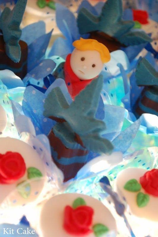 Kit Cake  Pequeno Príncipe Le Petit Prince Bolo cakepins.com