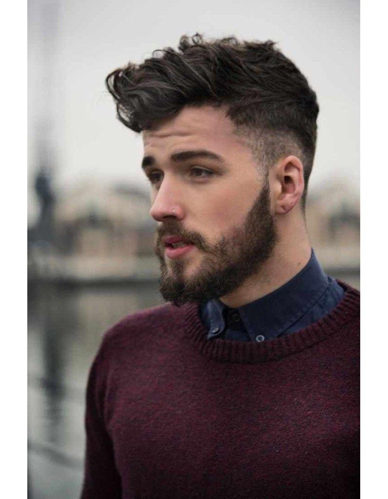 langer Haarschnitt auf Mann #sidecut #geheimratsecken #dutt ...