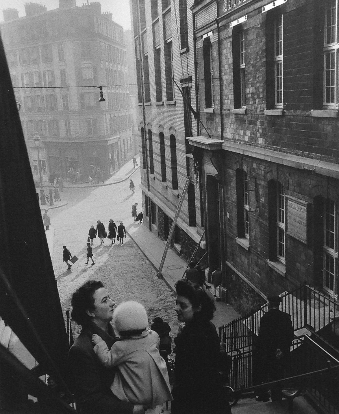Paris 1953 Rue Levert