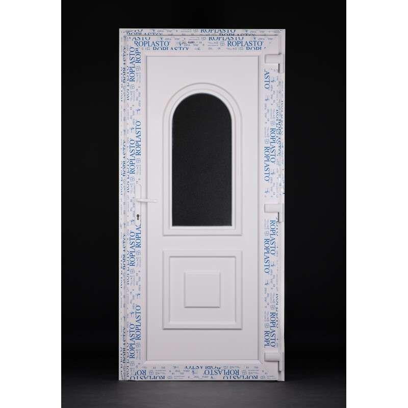 Volga plastic Entrance door 98x208cm # white