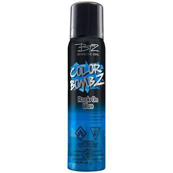 Rock On Blue Temporary Hair Color Spray Color Spray Temporary