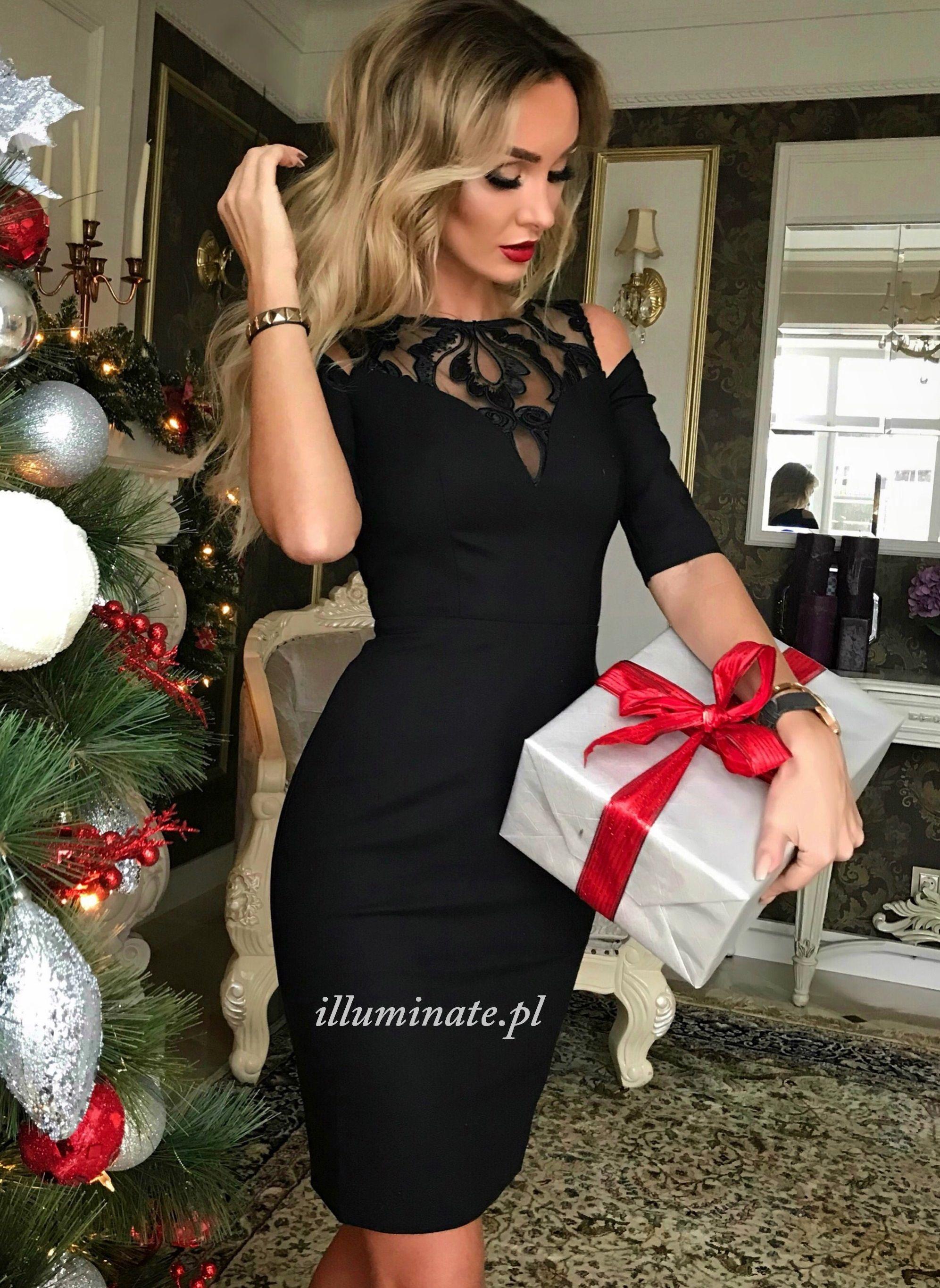 02a09a0b86 Little black dress Sukienka uszyta w Polsce. Made in Polnd. Buy-   illuminate.pl