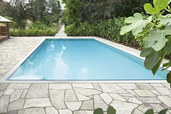 Der Klassiker In Der Gartengestaltung Polygonalplatten Gartengestaltung Garten Garten Landschaftsbau