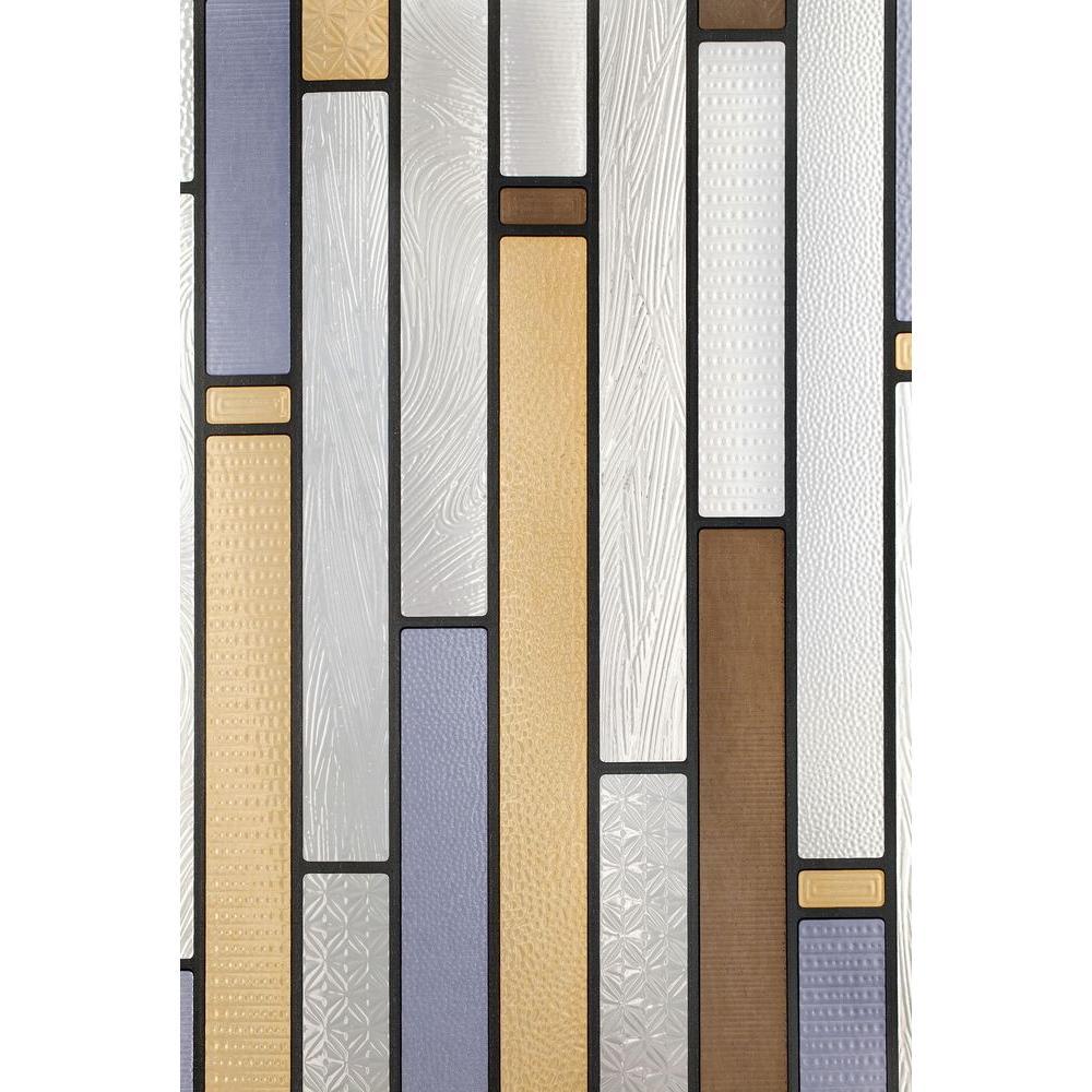 Artscape 12 In X 83 In Modera Sidelight Decorative Window Film 02 3604 Stained Glass Window Film Decorative Window Film Window Film