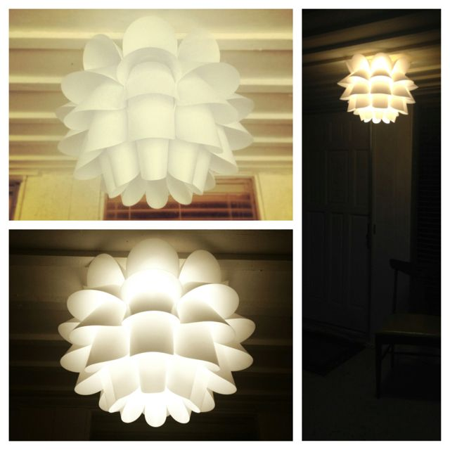 Ikea knappa pendant light turned porch light o u t s i d e ikea knappa pendant light turned porch light mozeypictures Image collections
