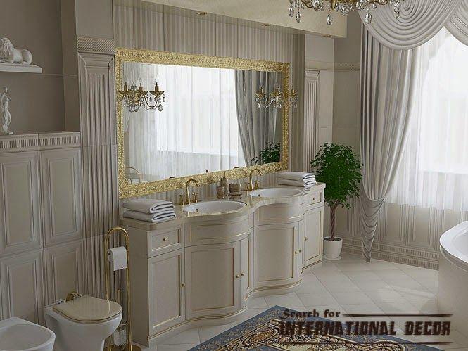 Luxury Bathroom In Classic Style Bathrooms Pinterest Washroom Interesting Bathroom Classic Design