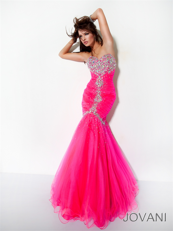 Mermaid Prom Dresses | pink mermaid prom dress 2012 | Long Prom ...