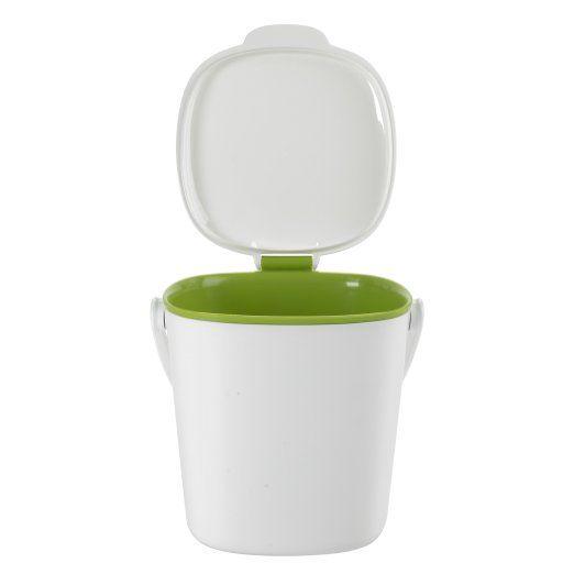 Kitchen Counter Compost Bin W/ Side Handles