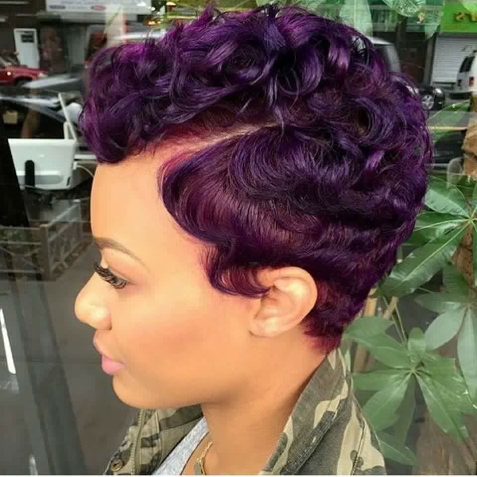 Cute purple short cut hair styles pinterest purple shorts