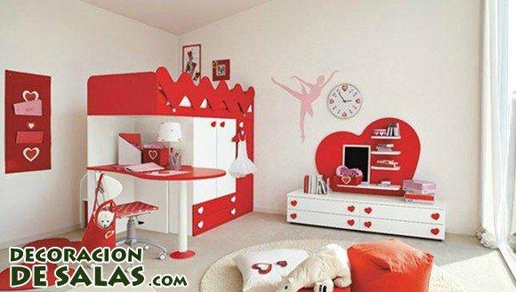 Habitaciones decoradas con corazones Bedroom Pinterest