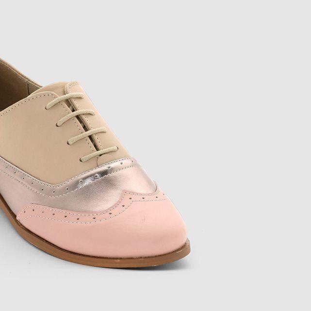 cace2d3f4 Derbies en cuir femme, MADEMOISELLE R MADEMOISELLE R | shoes ...