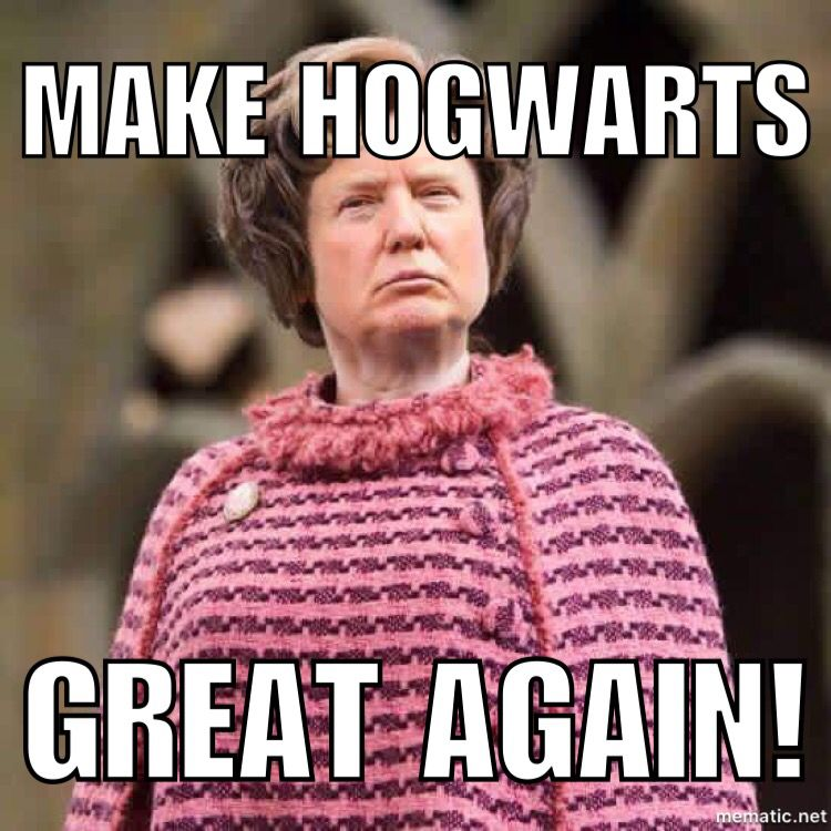Trump and Umbridge   the similarities are startling   #trump