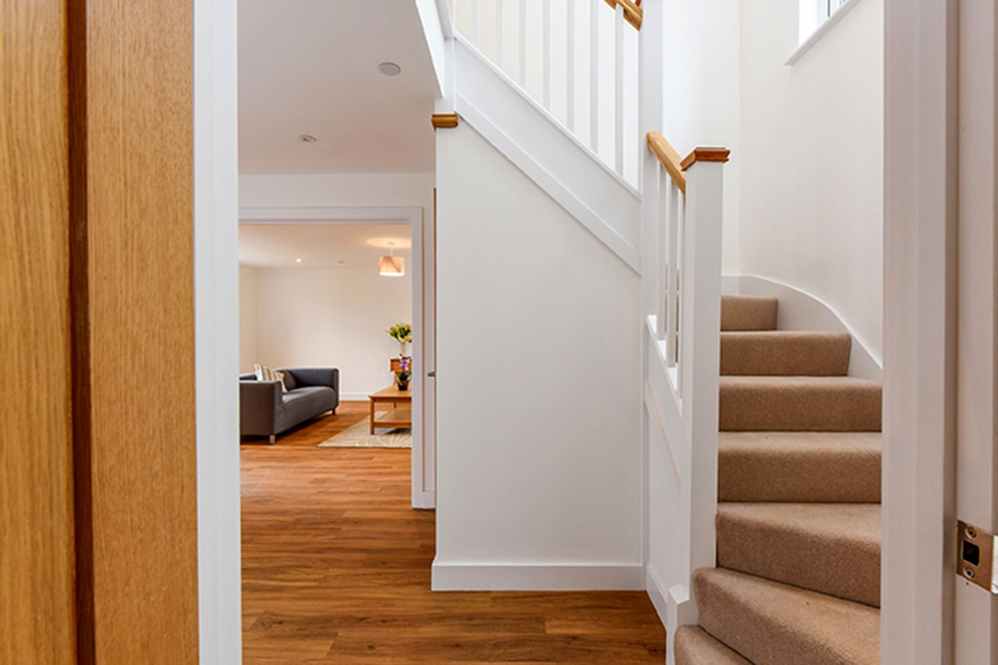 Best A Single Winder Staircase Manufactured From Softwood White 400 x 300