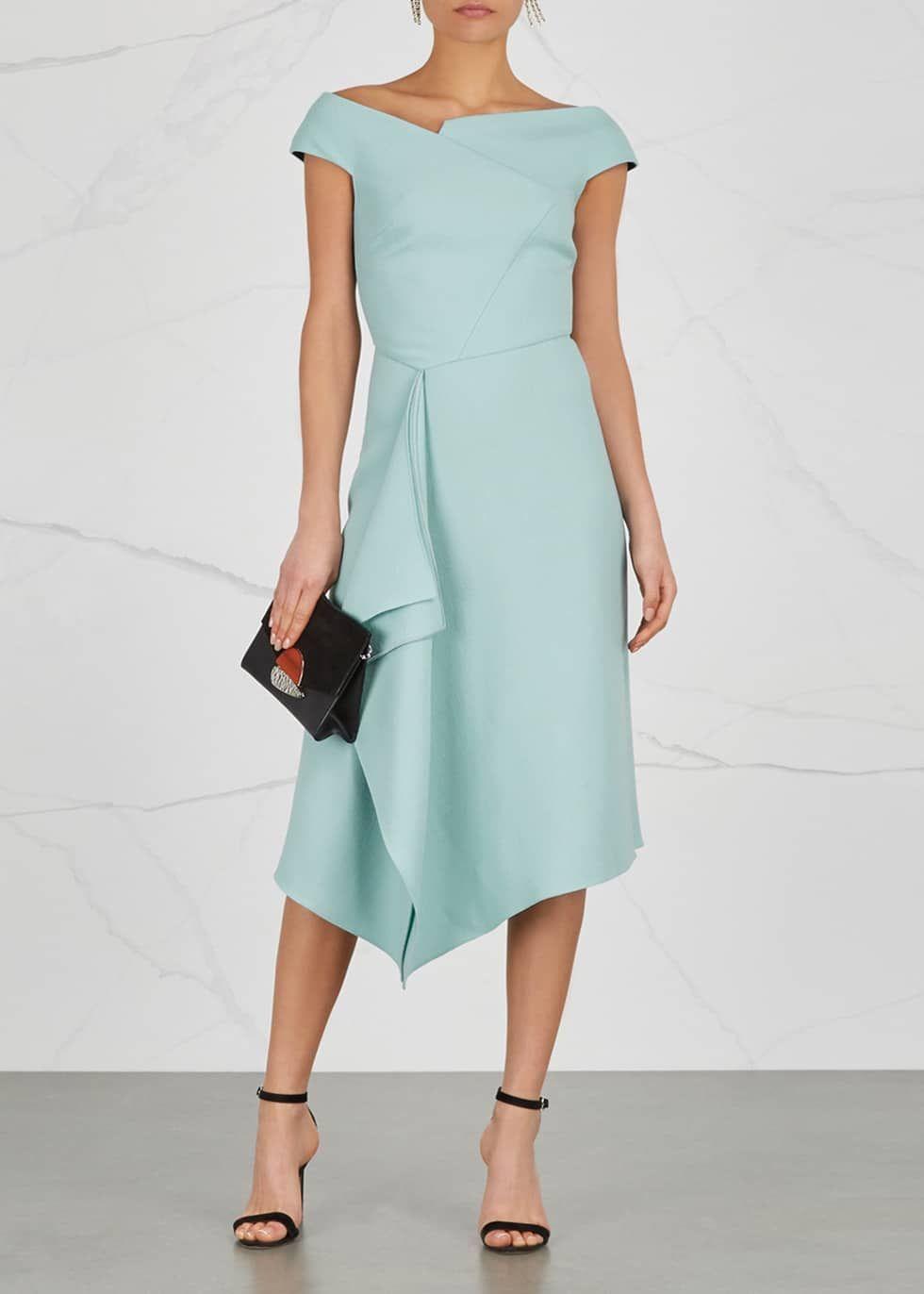 Image Result For Barwick Dress By Roland Mouret Dresses Select Dress Cotton Blends Dress [ 1372 x 980 Pixel ]