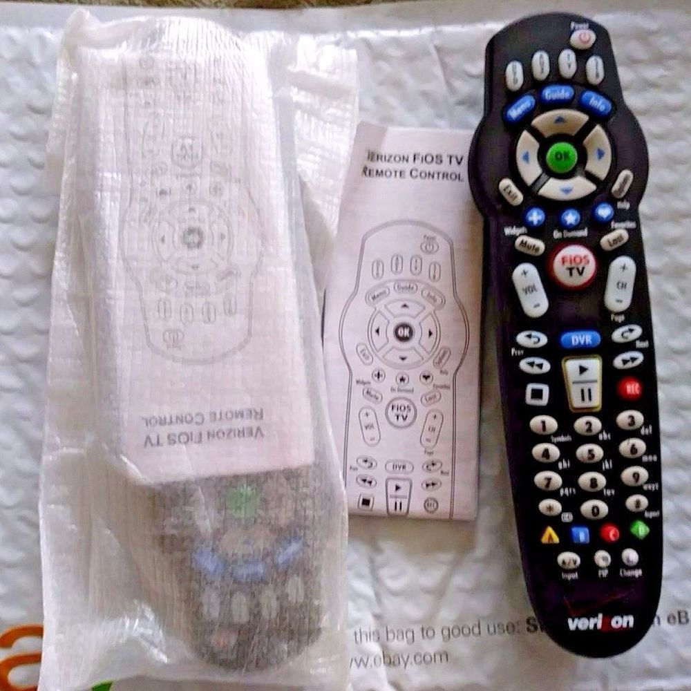 Set 2 VERIZON FiOS TV DVR Set-Top Box Remote Control RC 1445302/00B