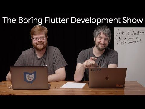 Influencing the Flutter SDK (The Boring Flutter Development Show, Ep