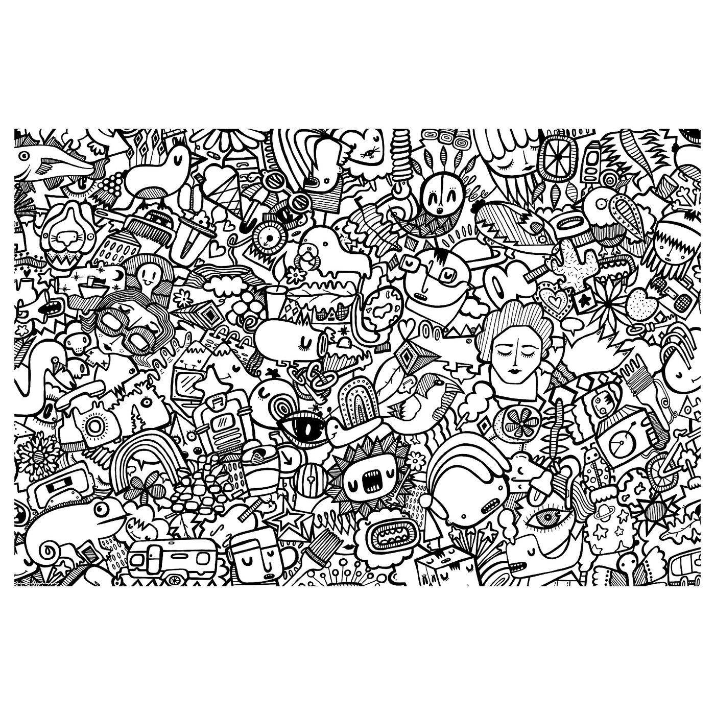 ikea getn 196 s colouring poster and objects motif