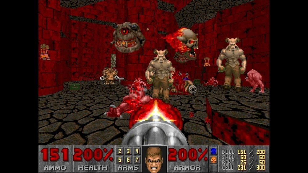 Pin By Heather Smith On Pastabulous Doom Pc Game Online Pc Games Doom Game
