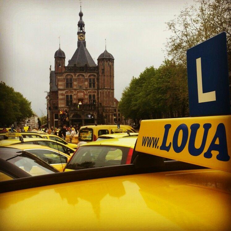 Deventer geel en snel tourtocht op de Deventer Brink 26 April 2015 - Fotograaf Moric van der Meer