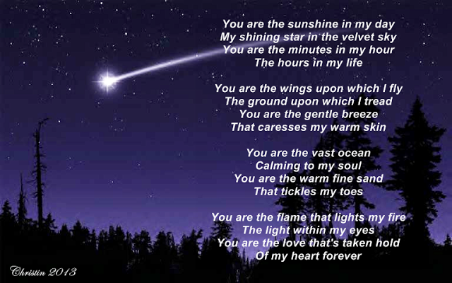 Christins Poems About Love And Life: You Are My Shining