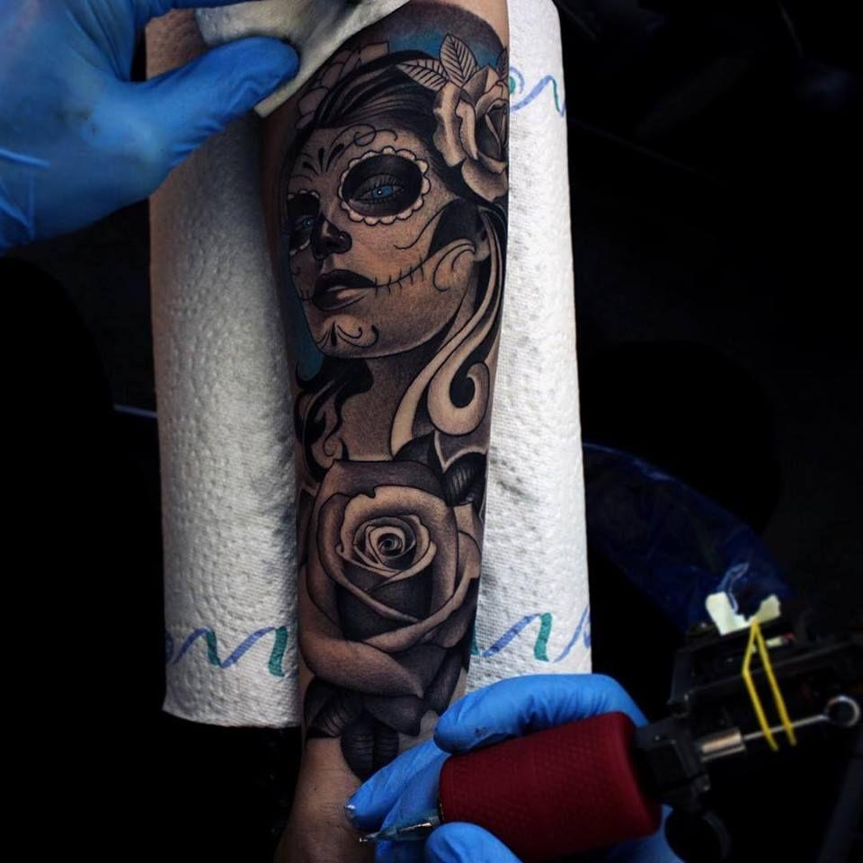 Pin by Viktória Horváth on Gabi   Pinterest   Tattoo, Realism ... - Tattoo Sleeve Frau