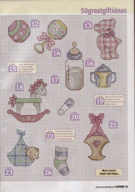 schemi gratis da realizzare a filet punto croce maglia