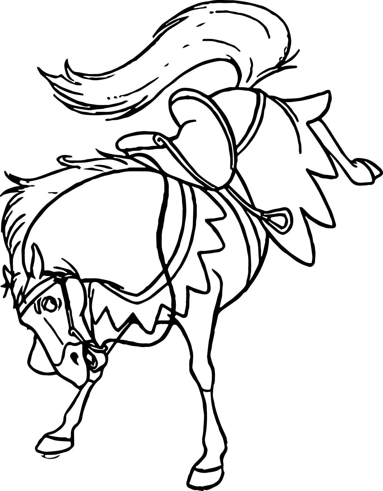 Nice The Hunchback Of Notre Dame H Horse Coloring Page