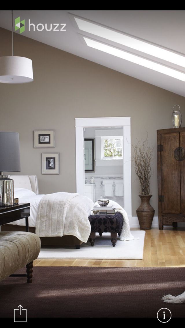 Top Wall color: Benjamin Moore - Brandon Beige 977 | Home finalists  PO03