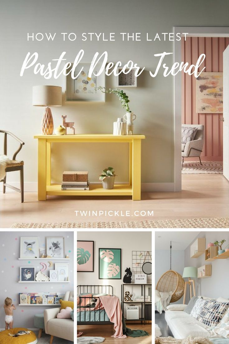 How to Style the Latest Pastel Decor Trend   Top Blogs - Pinterest ...