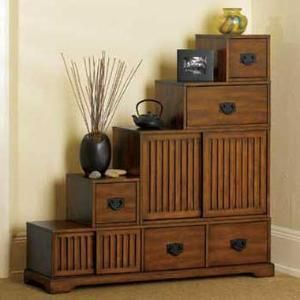reversible tansu step chest home living skymall japanese furniture decor on kitchen organization japanese id=60688