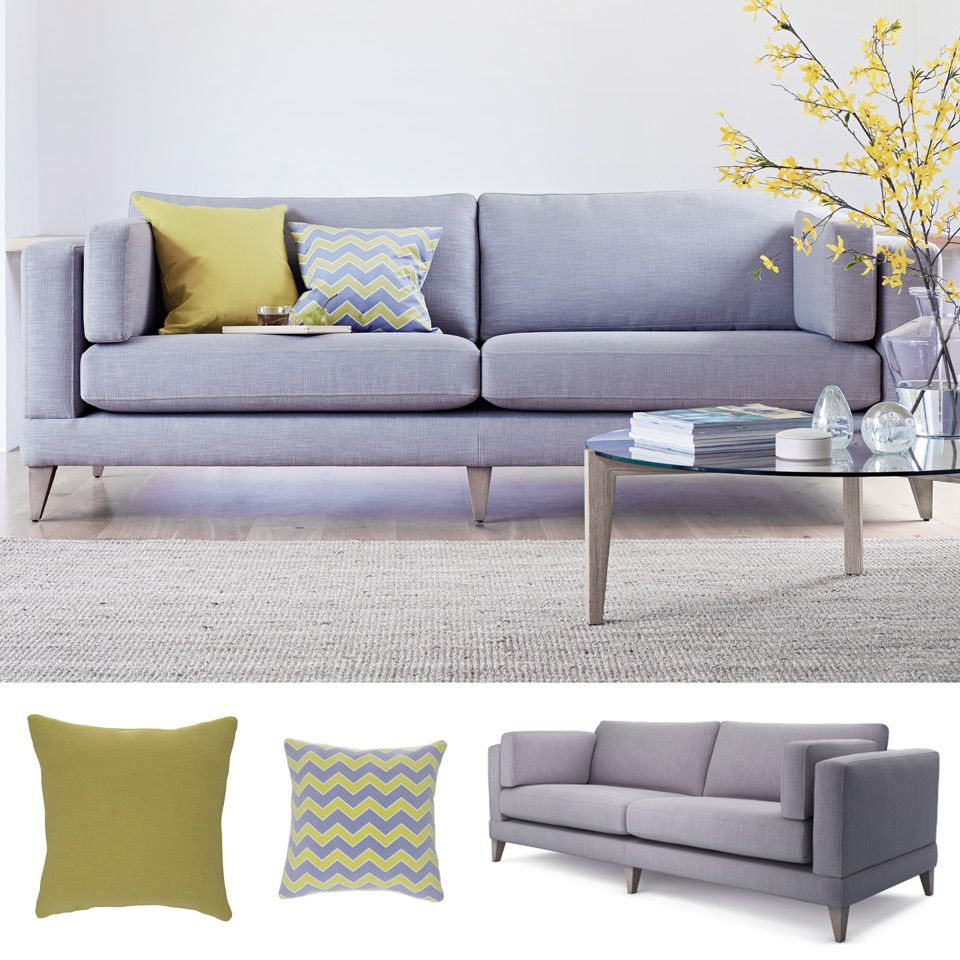 Awesome The Lounge Co Get The Look Mallory 4 Seater Sofa In Creativecarmelina Interior Chair Design Creativecarmelinacom