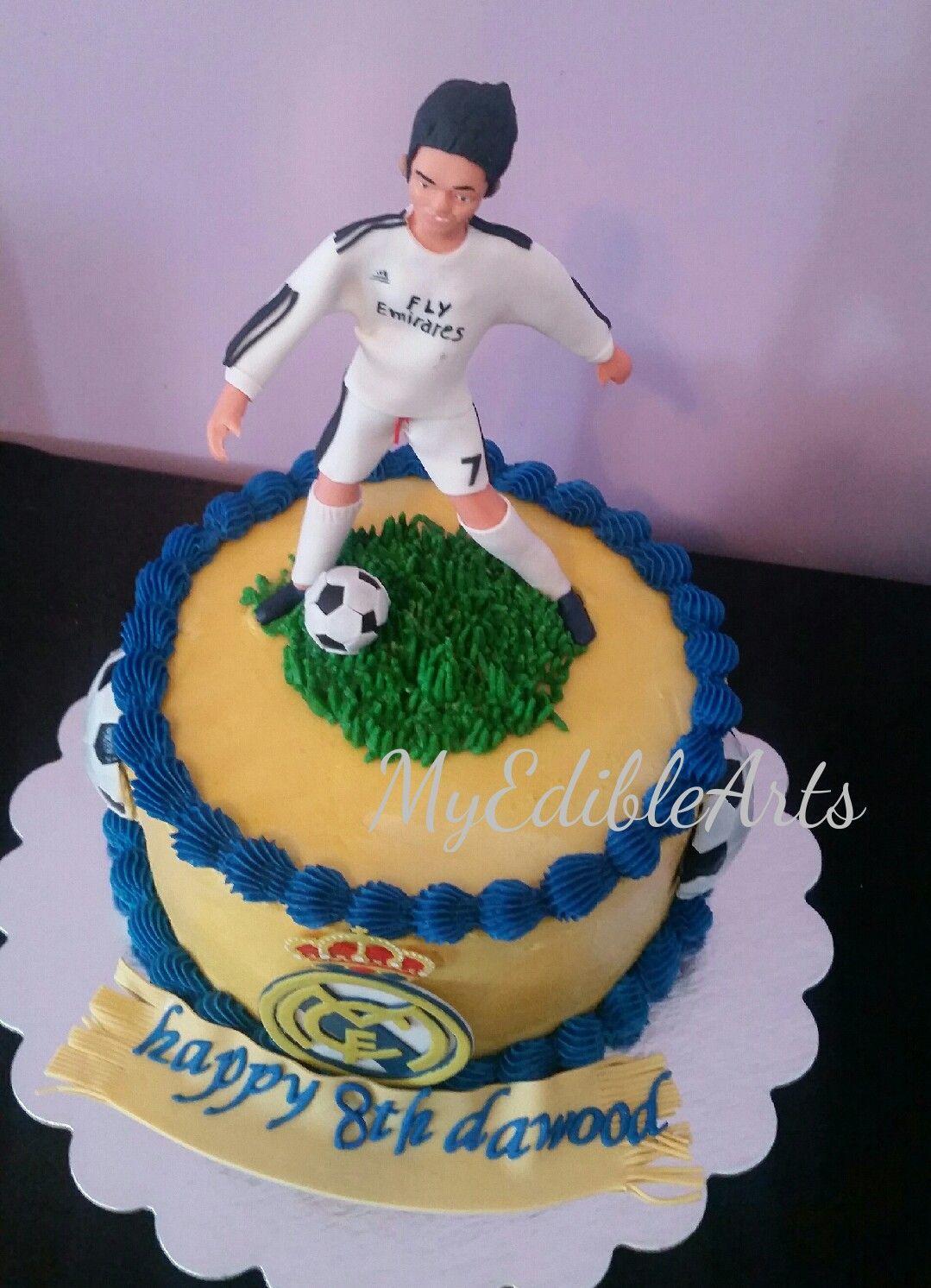 Real Madrid Cristiano Ronaldo Cake Children S Birthday Cake In