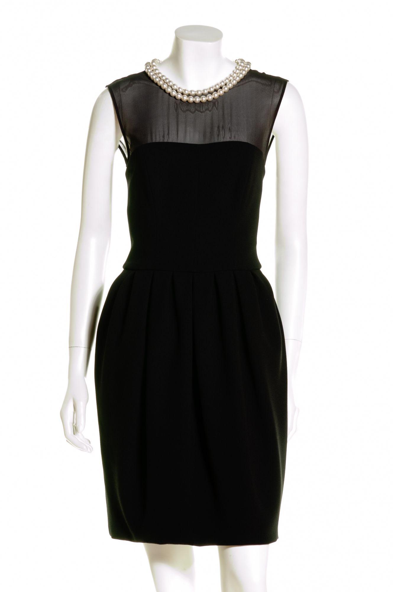 Pearl Embellished Black Dress Black Dress Perfect Little Black Dress Dresses [ 2000 x 1329 Pixel ]