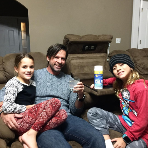 """""""Absolutely love Natural Calm Anti Stress Drink @naturalvitalityofficial it is so delicious and really works! I got the sweet lemon flavor and it tastes so good! Tate and Lily had a small sip and said it tasted great too! It is a relaxing magnesium supplement that restores healthy magnesium levels and is Vegan and Non-GMO. Go check it out today!! #naturalcalm #mycalmresolution #sponsored"""""""