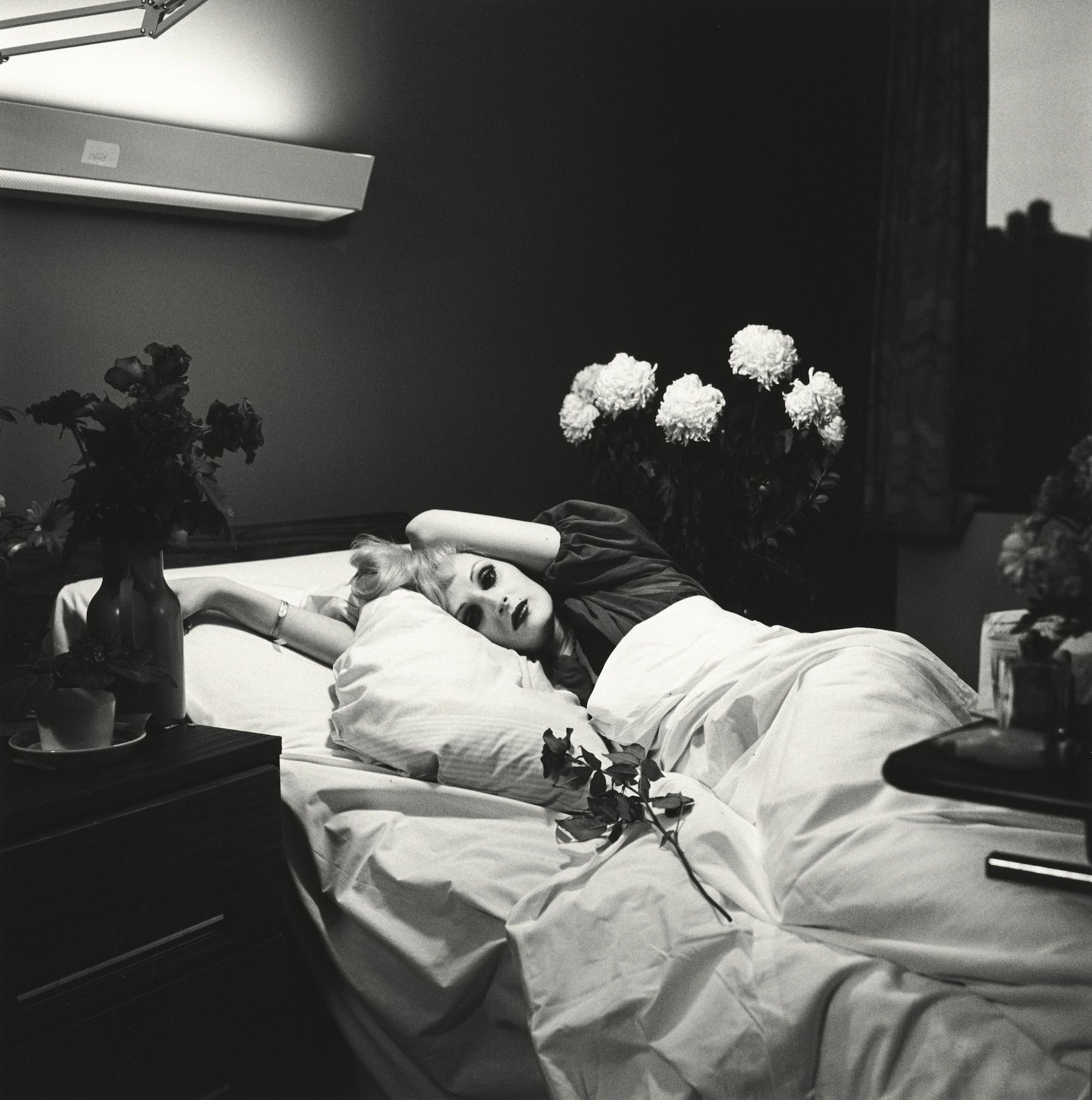 Peter Hujar - Candy Darling on her Deathbed, 1973