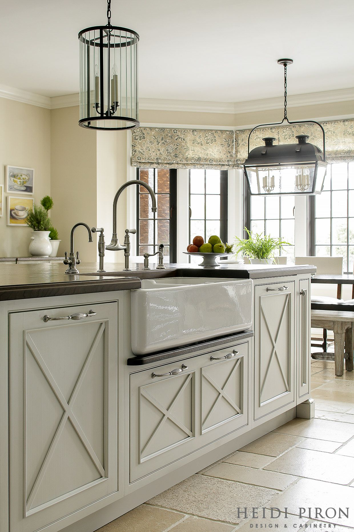 Award Winning Kitchen Designer, Heidi Piron, Creates Hand Crafted Kitchens  And Customized