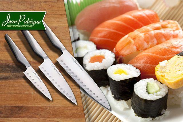 3 or 5-Piece Knife Set