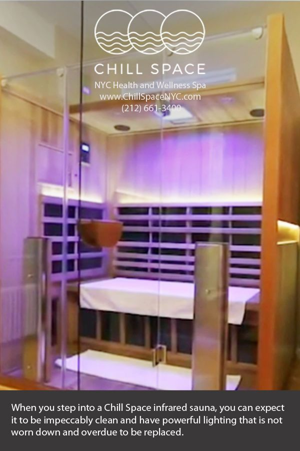 Float Therapy Nyc: Save 25% On Your Next Chill Space Infrared Sauna Session