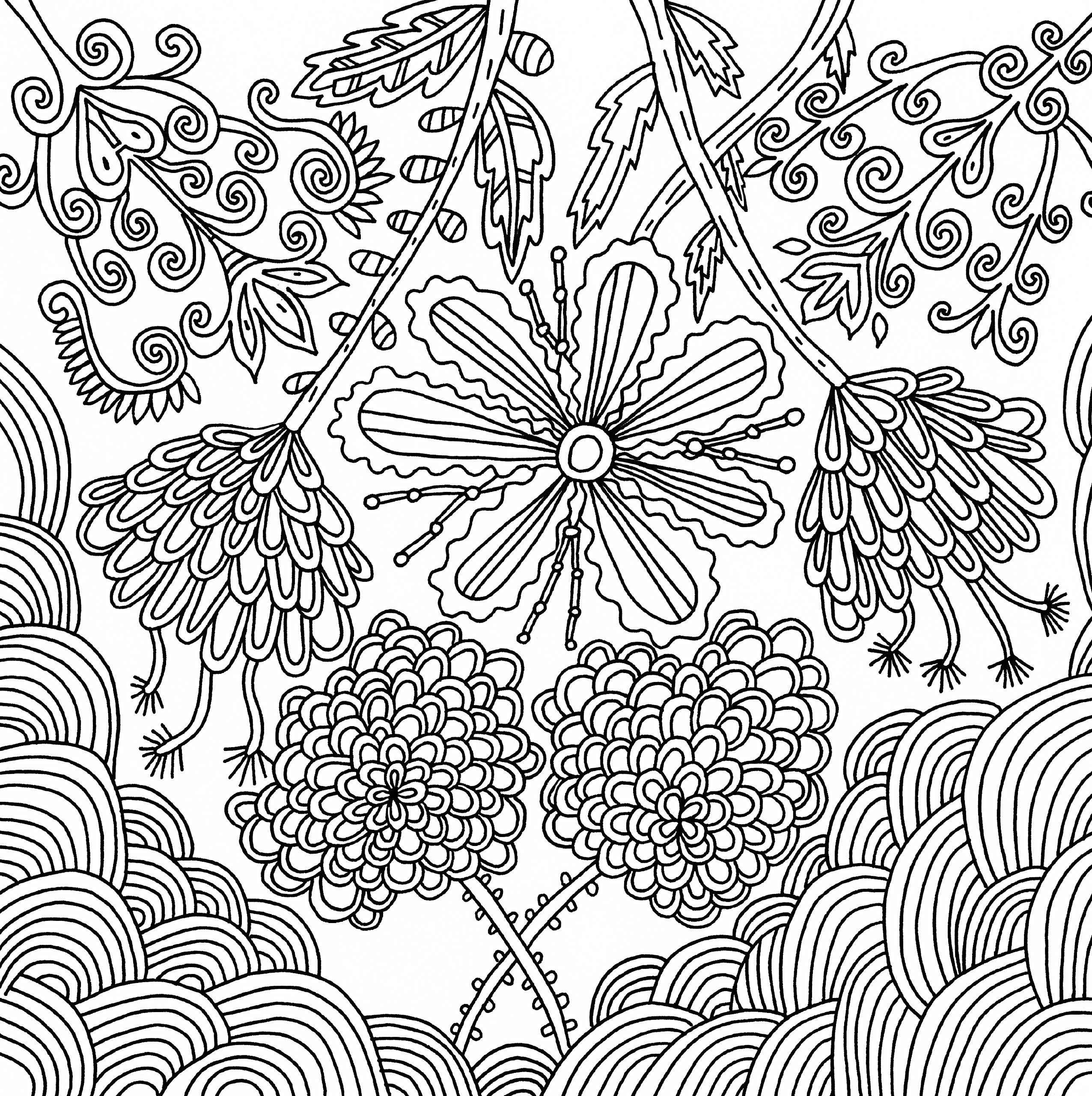 serenity adult coloring book 31 stressrelieving designs