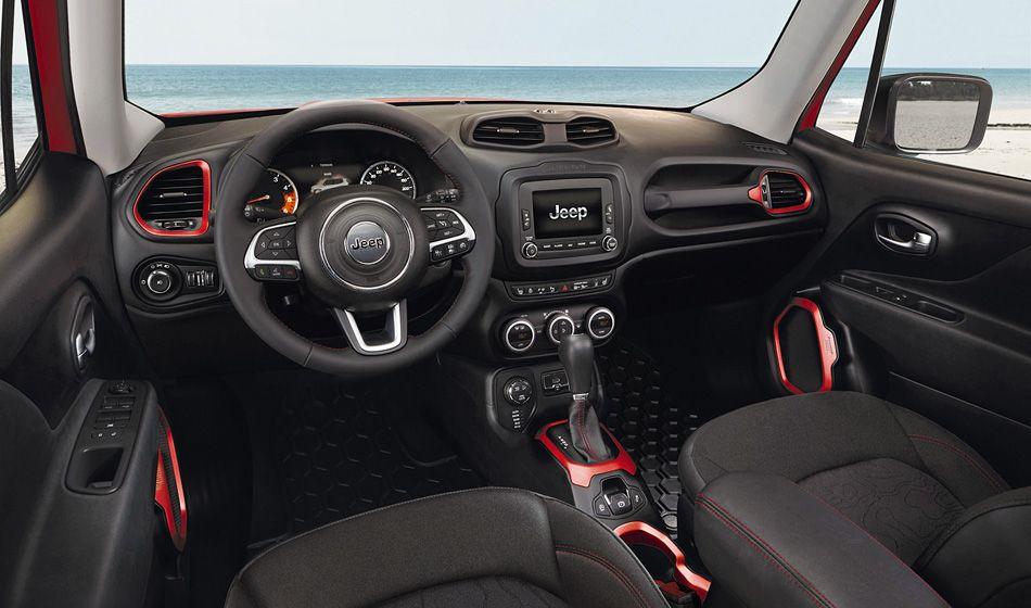 Jeep Renegade Interior!