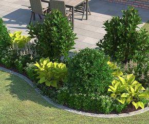 Beet Ganz Einfach Anlegen Gestalten Steinmauer Garten Garten Garten Bepflanzen